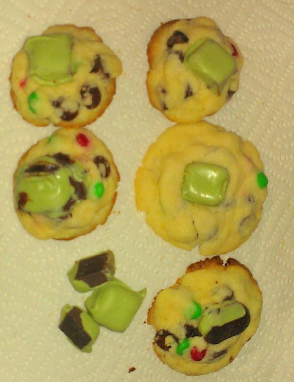 Each cookie is unique but taste deliriously delicious