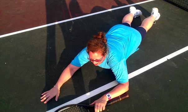 Tennis Court Domination!