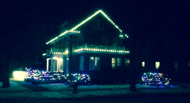 This house lights up the block!