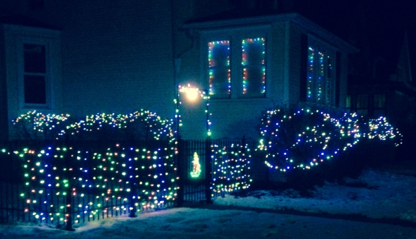 How can you not smile when you see lights like these? I thanked the owner when I walked by.
