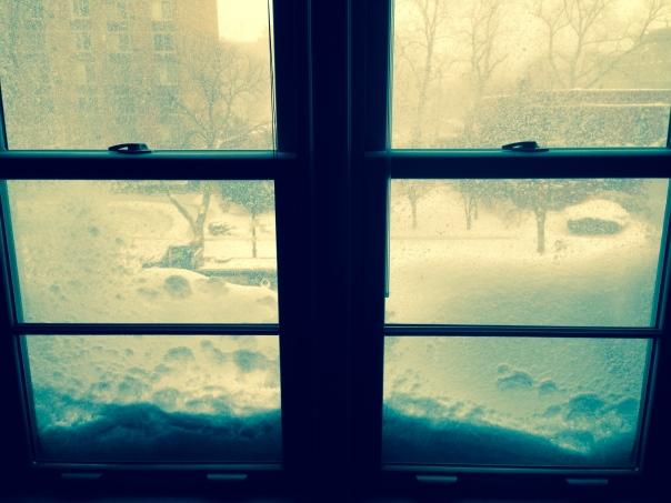 When snow day...