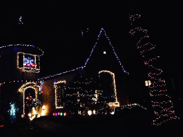 It lightens up the neighborhood, for sure.